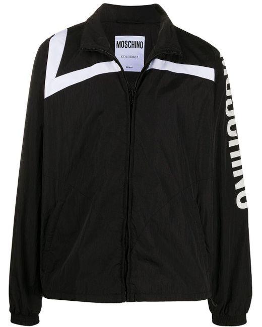 Спортивная Куртка С Логотипом Moschino для него, цвет: Black