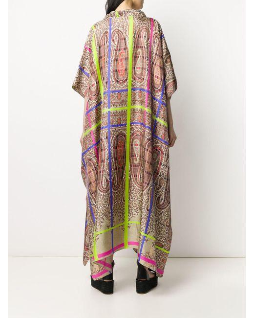 Pierre Louis Mascia ペイズリー チュニックドレス Multicolor