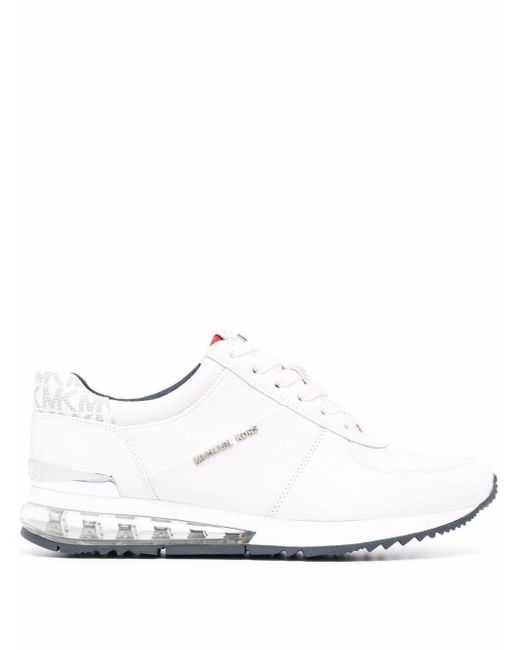 MICHAEL Michael Kors White Allie Extreme Low-top Sneakers