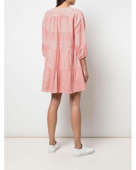 Lemlem Red 'Semira' Kleid