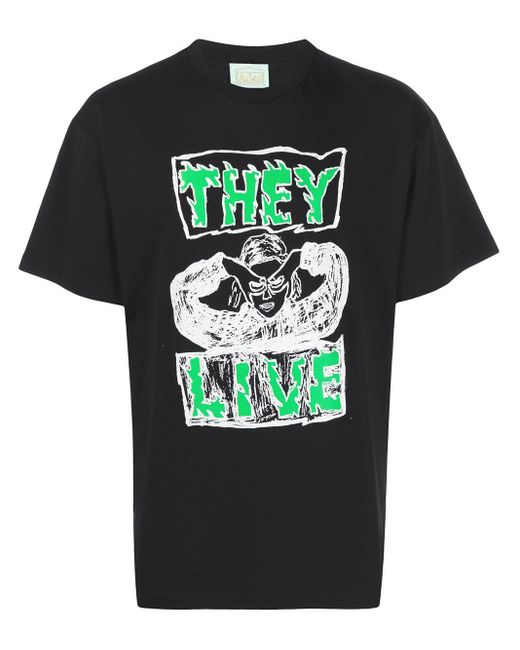 Aries They Live Tシャツ Black