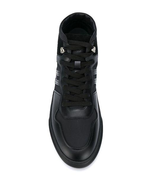 Кроссовки H365 Hogan для него, цвет: Black