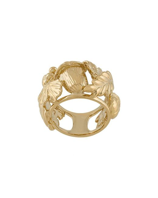 Aurelie Bidermann - Metallic Aurelie Ring - Lyst