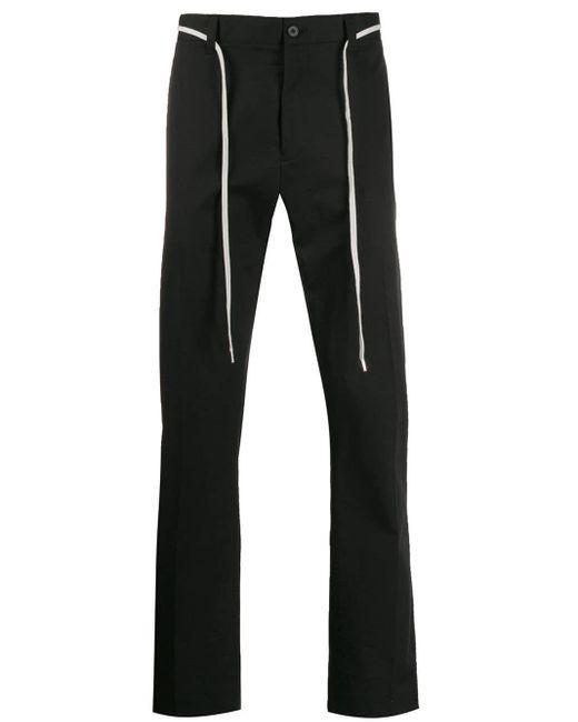 メンズ Lanvin ドローストリング パンツ Black