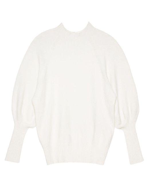 Apparis スリムフィット セーター White