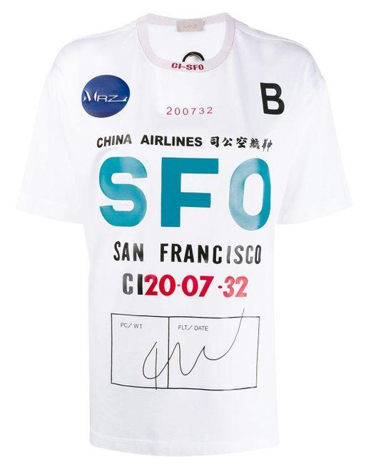 Mrz Sfo グラフィック Tシャツ White