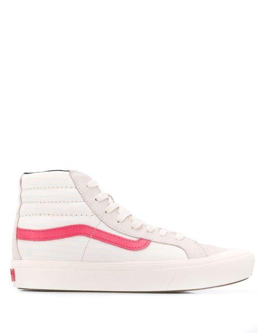 Vans ロゴ ハイカット スニーカー Pink