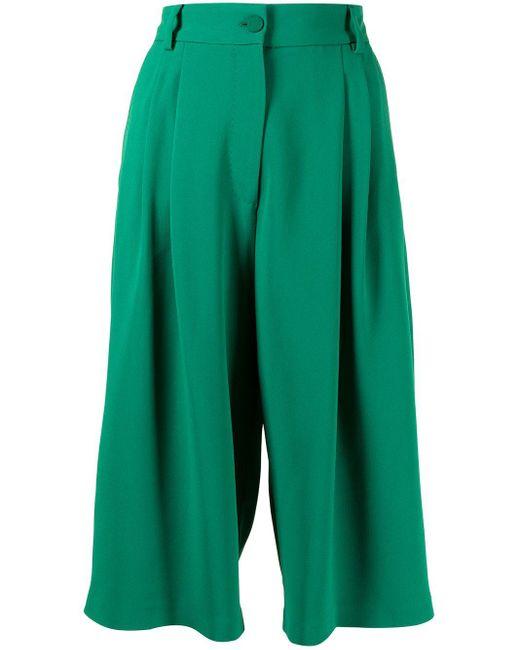 Shorts al ginocchio Cady di Dolce & Gabbana in Green