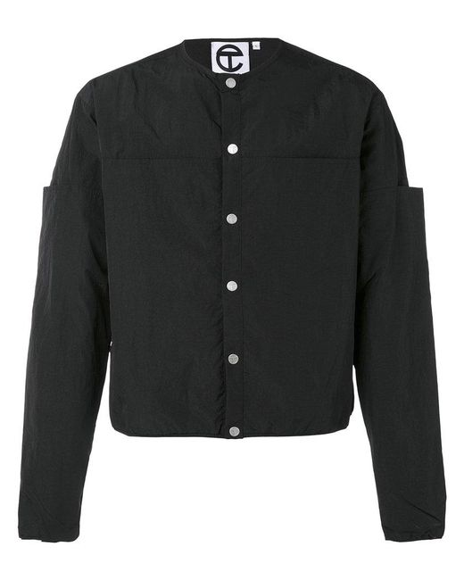 Telfar | Black Collarless Jacket for Men | Lyst