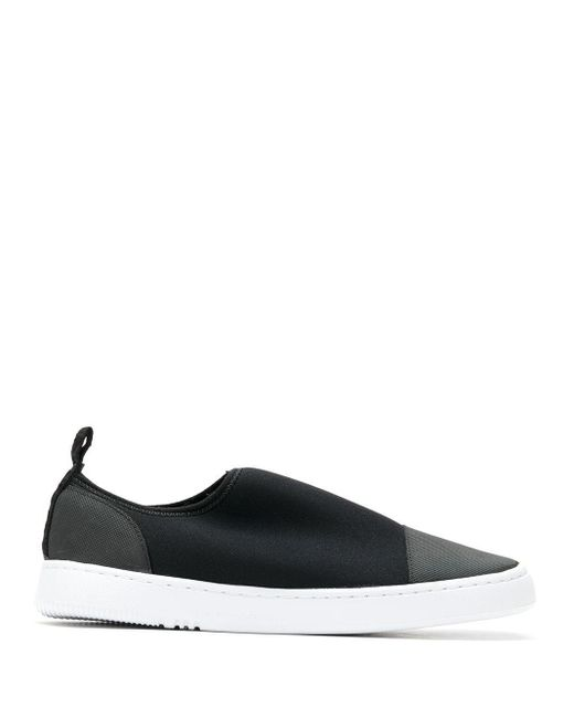 Osklen Black 'Superlight' Slip-On-Sneakers