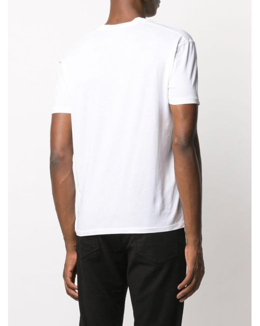 メンズ Tom Ford ショートスリーブ Tシャツ White