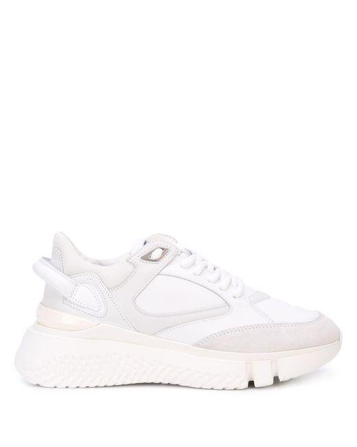 Buscemi White 'Veloce' Sneakers