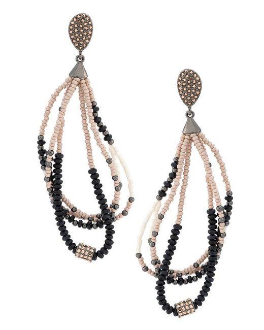 Camila Klein - Metallic Beaded Earrings - Lyst