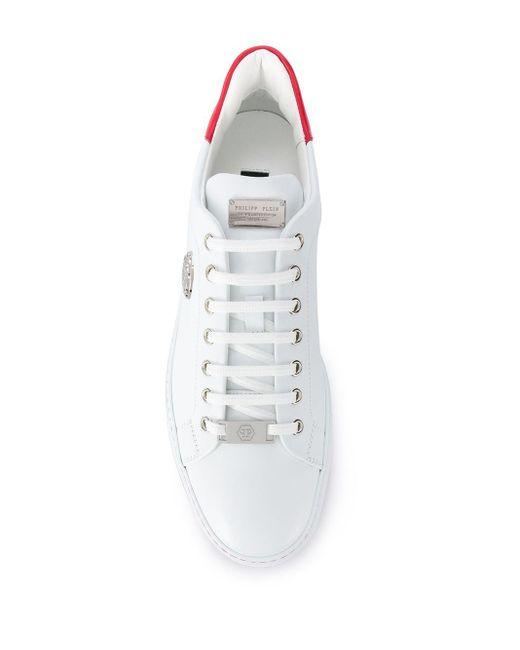 メンズ Philipp Plein ローカット スニーカー White
