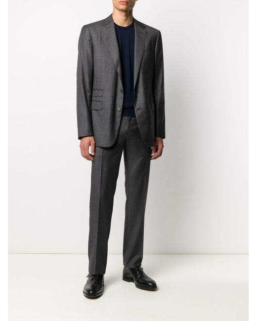 メンズ Ralph Lauren Purple Label カシミア セーター Blue