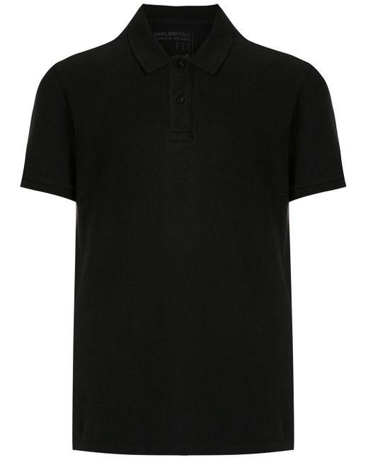 メンズ Osklen Polo Shirt Black