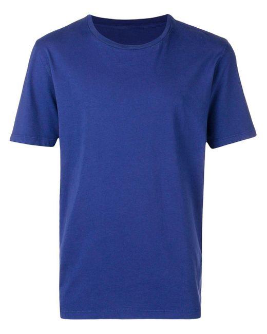 メンズ Maison Margiela ルーズフィット Tシャツ Blue