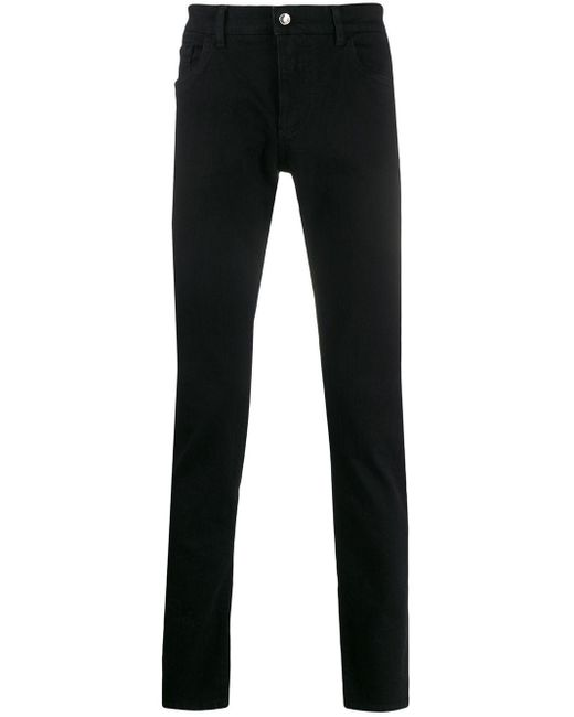 メンズ Dolce & Gabbana スリムジーンズ Black