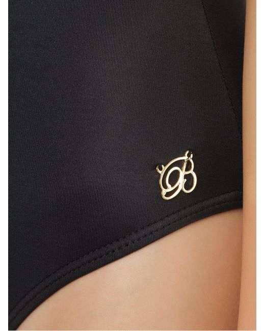 Слитный Купальник С Драпировкой Brigitte Bardot, цвет: Black