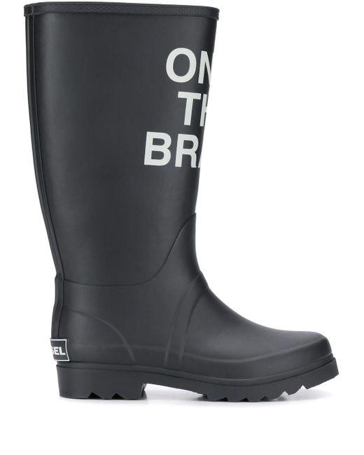 DIESEL Only The Brave ブーツ Black