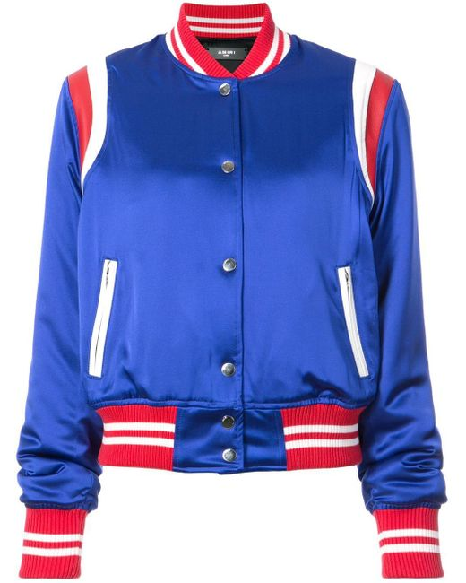 Amiri ボンバージャケット Blue