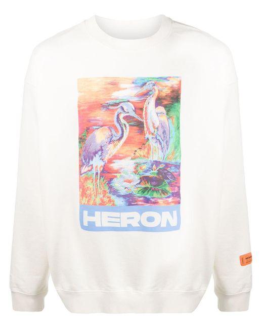 メンズ Heron Preston ロゴ スウェットシャツ Multicolor