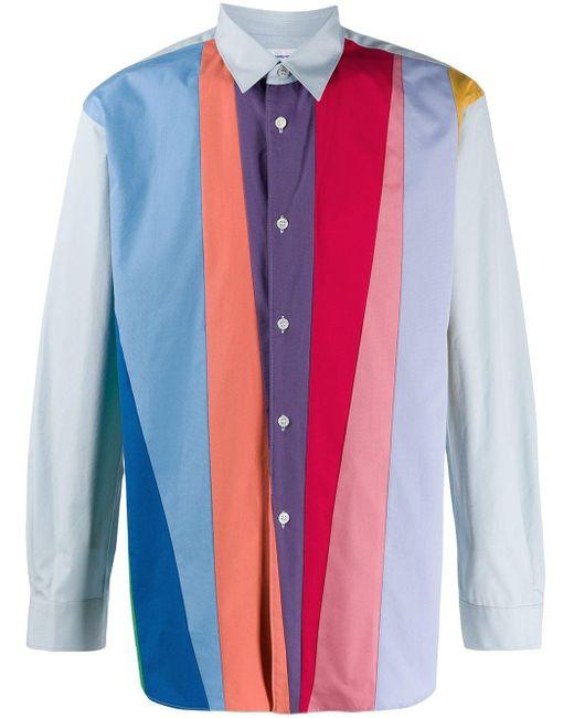 Comme des Garçons Multicolor Colour-block Shirt for men