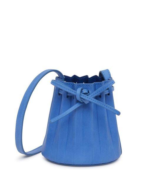 Mansur Gavriel ドローストリング バケットバッグ Blue