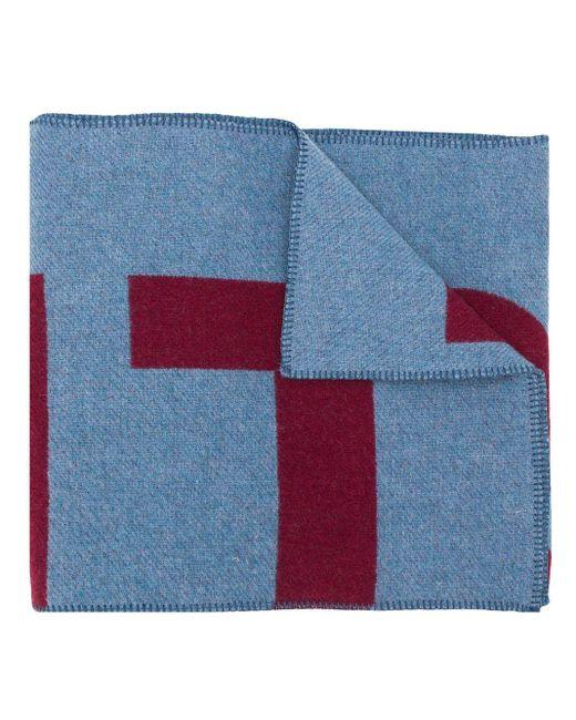 Isabel Marant Loli ブランケットスカーフ Blue