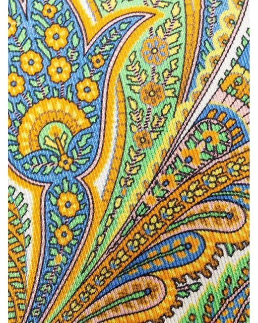 メンズ Etro ペイズリー ネクタイ Multicolor