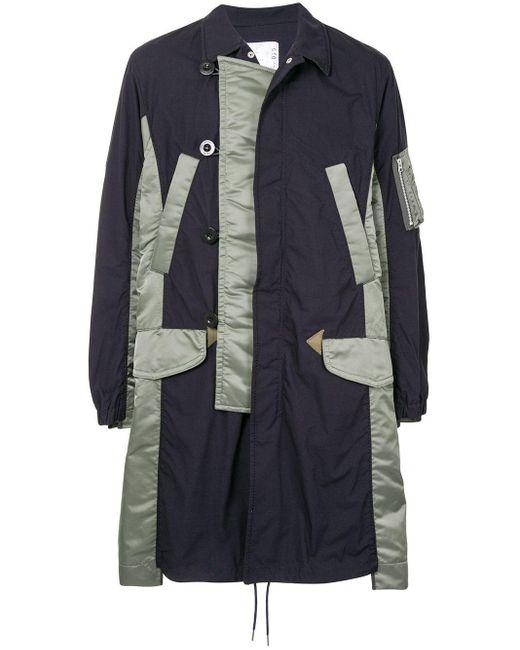 メンズ Sacai コート Multicolor