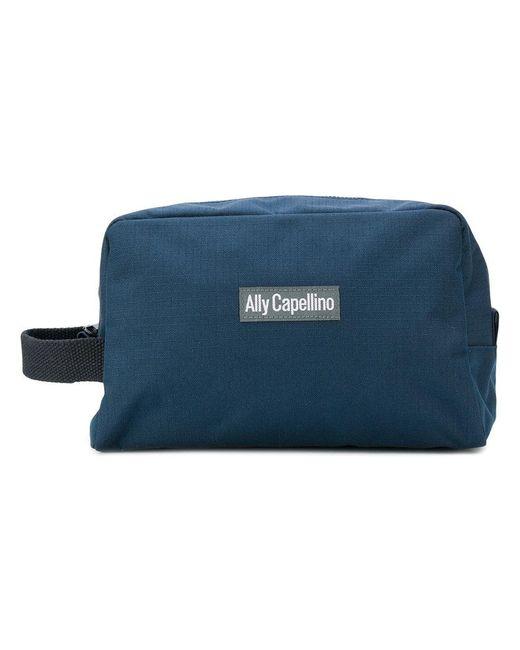 Ally Capellino | Blue Mini Simon Wash Bag for Men | Lyst