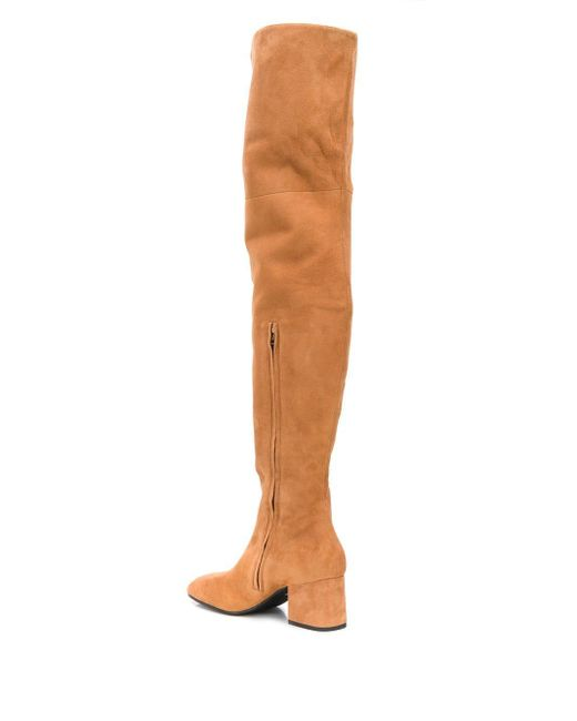 Marni Brown Over-the-knee Boots