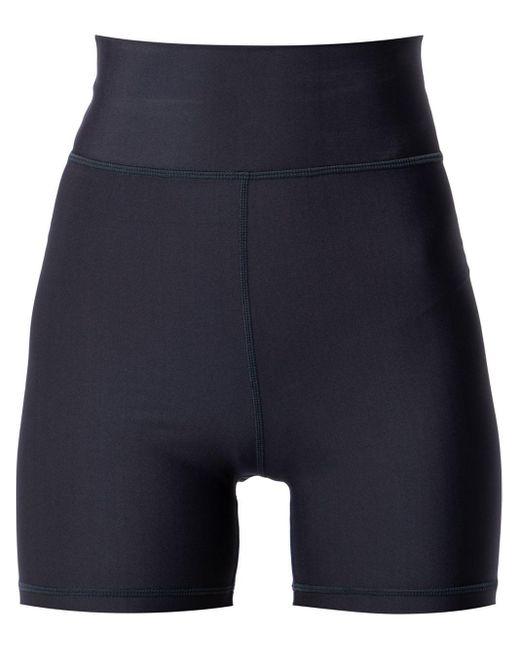 Shorts compression NF Spin mini di The Upside in Blue