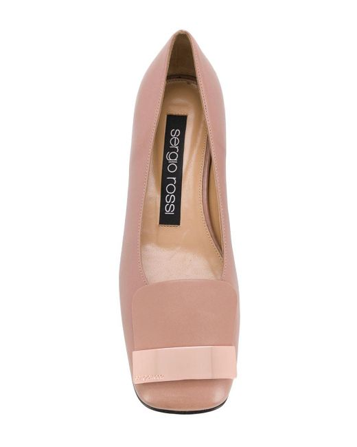 Балетки 'sr1' Sergio Rossi, цвет: Pink