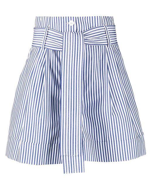 P.A.R.O.S.H. White Shorts mit Print