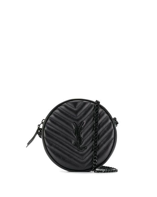 Стеганая Сумка На Плечо Saint Laurent, цвет: Black