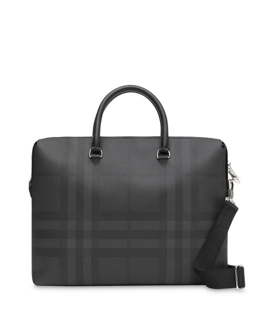 Mallette à carreaux London Burberry pour homme en coloris Black