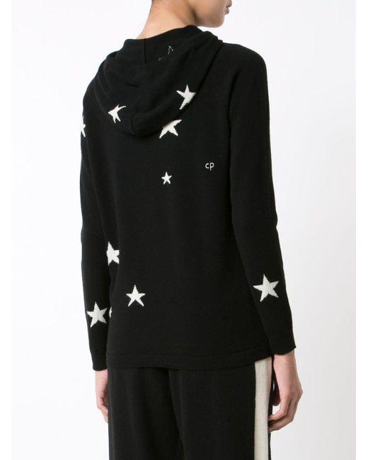 Chinti & Parker Star カシミアパーカー Black