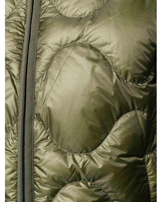Пуховик На Молнии Moncler для него, цвет: Green