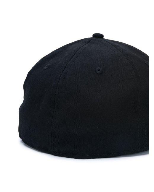Gorra bordada Yohji Yamamoto de hombre de color Black