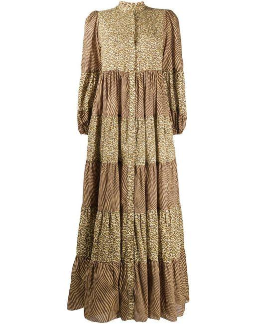Zimmermann アニマルプリント ドレス Multicolor