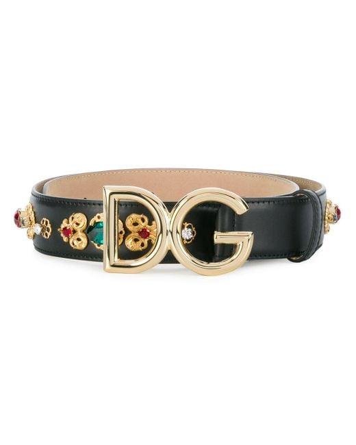 Dolce & Gabbana バックルベルト Multicolor