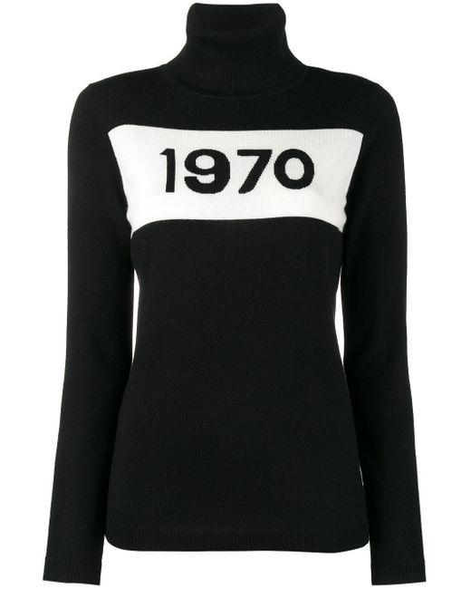 Bella Freud 1970 タートルネックセーター Black
