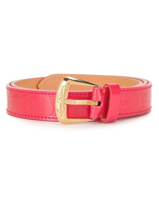 Ремень Phoenix 2008-го Года Louis Vuitton, цвет: Pink