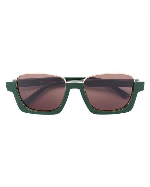 Marni Eyewear - Green Marni Crop Sunglasses - Lyst