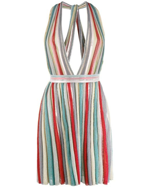 Missoni プランジネック ドレス Multicolor