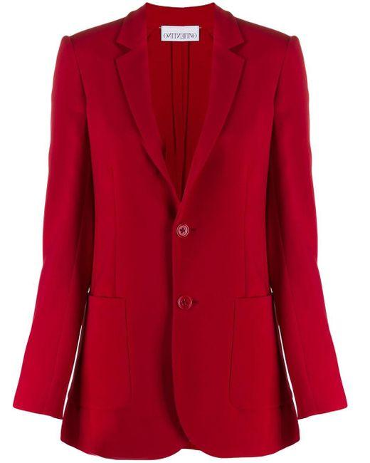 RED Valentino シングルジャケット Red