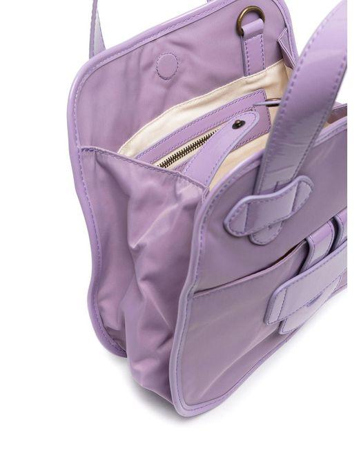 Tila March Zelig ハンドバッグ S Purple