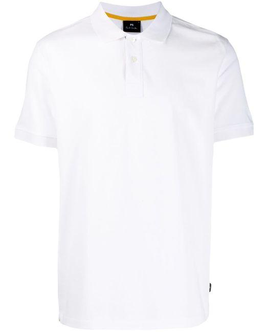 メンズ Paul Smith ショートスリーブ ポロシャツ White